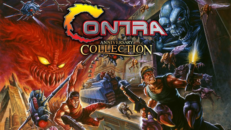 contra anniversary collection games lineup revealed konami