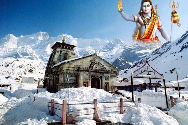 Kedarnatha lord shiva temple