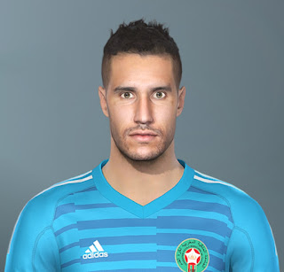 PES 2020 Faces Munir Mohand Mohamedi by The White Demon