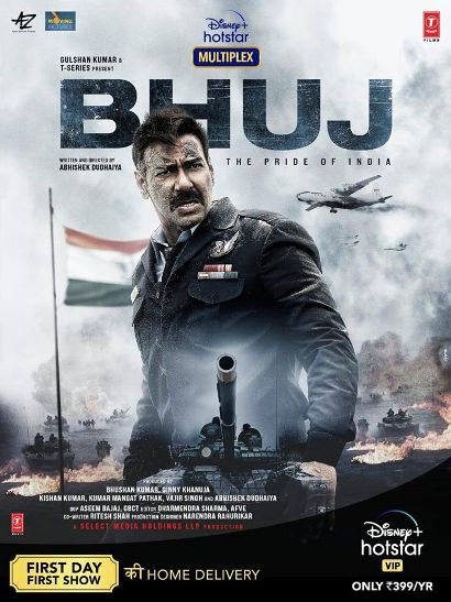 Ajay Devgan, Sanjay Dutt New Film Bhuj – The Pride Of India new upcoming movie first look
