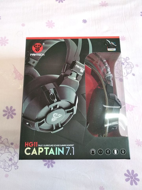FANTECH HG11 CAPTAIN 7.1耳罩式電競耳機評測傳說對決