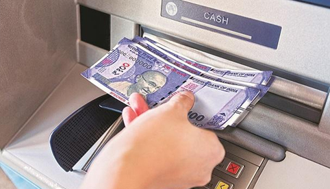 You can withdraw cash from ATMs without a card
