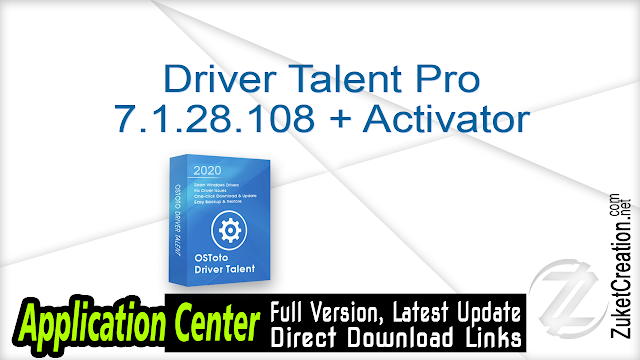 Driver Talent Pro 7.1.27.82 + Crack