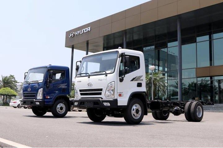 Xe tải cỡ trung Mighty EX8 GT sản xuất tại Việt Nam có gì đặc biệt?