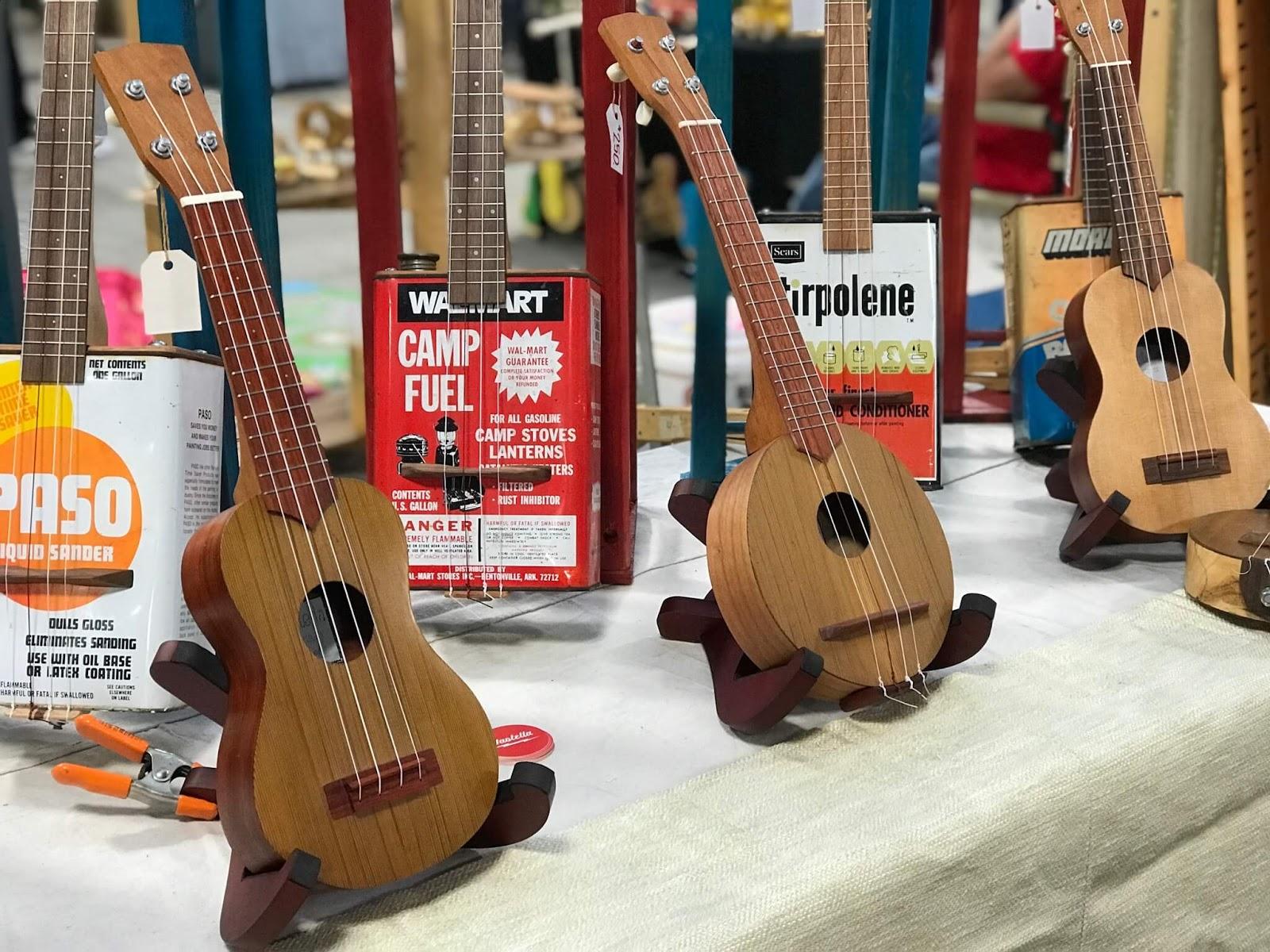 ukuleles by Wastella