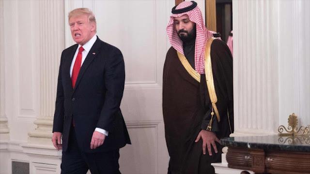 Trump: EEUU pierde enorme cantidad de dinero en defensa de Riad
