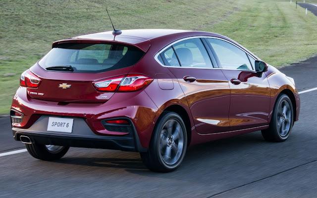 Novo GM Cruze é o veículo turbo mais vendido no Brasil e na Argentina
