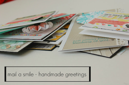mail a smile - World Cardmaking Day!!