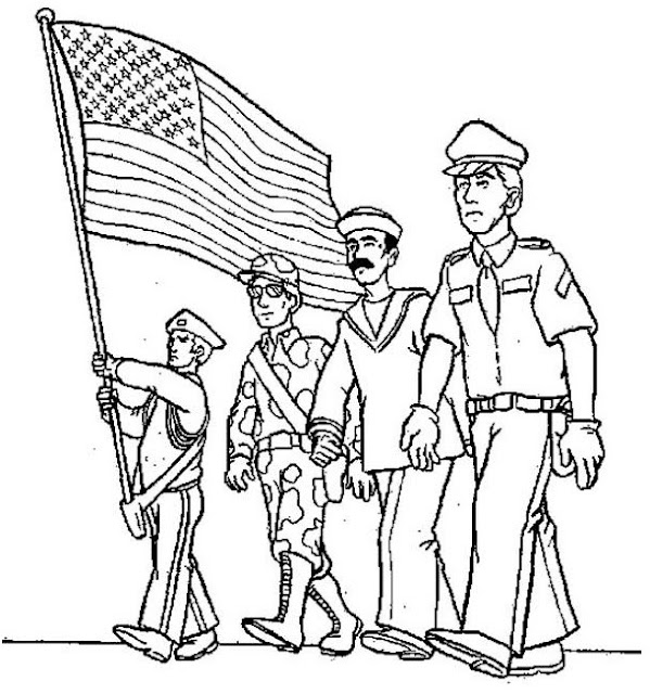 Flag Day Printable-Cards And Coloring-Pages Activity for Kids