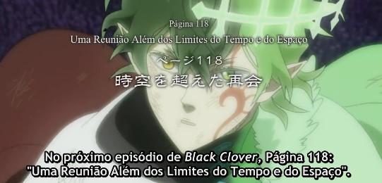 Black Clover – Episódio 118