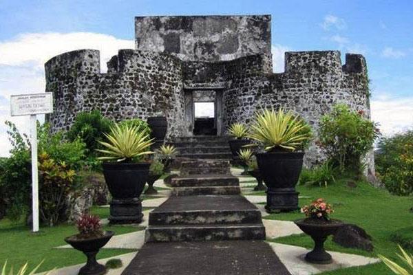 Benteng kerajaan Ternate