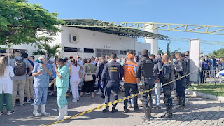 Incêndio atinge ala Covid de hospital e deixa quatro pessoas mortas em Aracaju