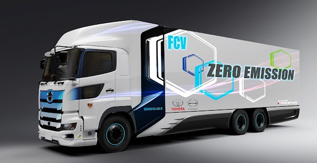 Toyota ve Hino Trucks'tan,  Hidrojen Yakıt Hücreli Ağır Ticari Araç