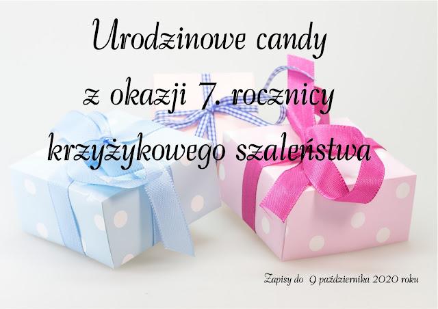 Candy na 7. urodziny bloga u Kasi