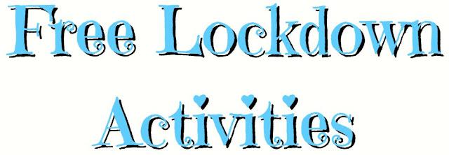 Free Lockdown Activities Banner  ©BionicBasil®