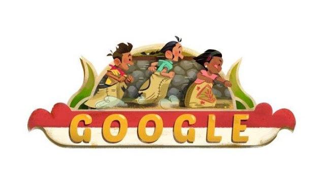 Google Doodle Kemerdekaan Indonesia Tahun 2018