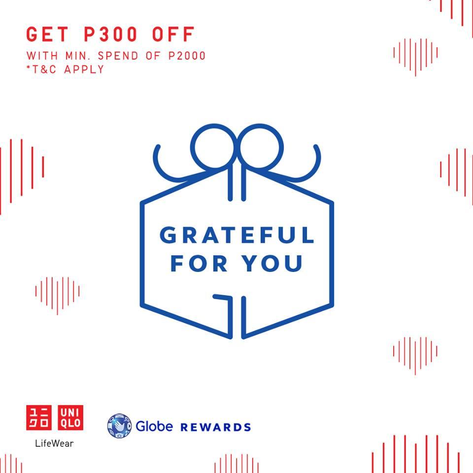 Manila Shopper Uniqlo Flagship Store Glorietta 5 1st Anniversary Promo Sept Oct 2019