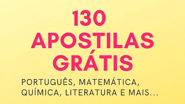 Mais de 130 opções de apostilas para o Enem gratuitamente