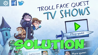 Trollface Quest TV Shows walkthrough.