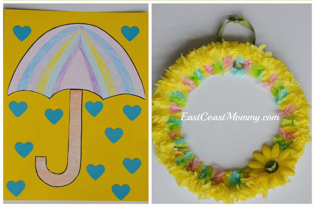 East Coast Mommy 50 Preschool Themes With Crafts And Activities