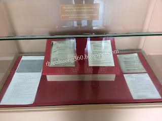 Một số hồ sơ, văn bản của Mật thám Pháp