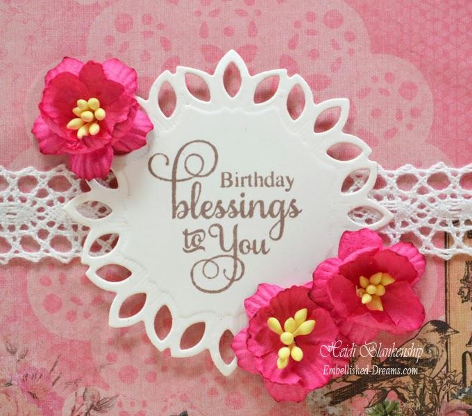 Beautiful Birthday Blessings-BU145 - shopittakestwo  |Birthday Blessings