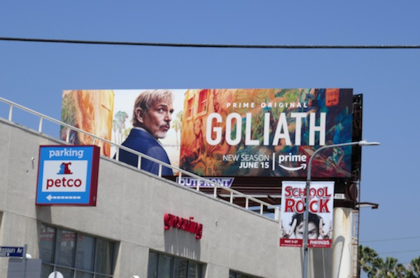 Goliath season 2 billboard