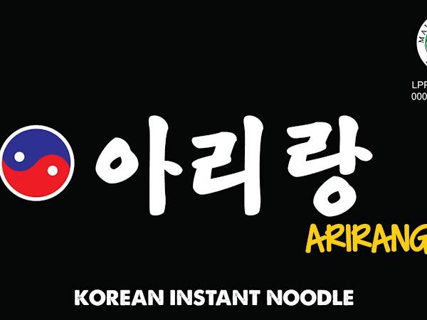 ARIRANG : Mie Korea Halal, DAEBAK!