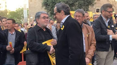 Juaquinico el Torrao, organizador, paradas, país, Catalunya