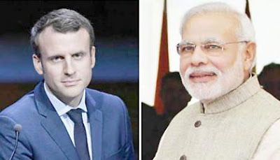 Macron And Modi Vow To act Jointly After Subs Dispute