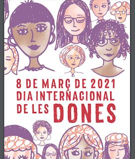 Ja podeu descarregar-vos el programa amb tots els actes entorn del #8M2021 #8MLleida #Couragetocreate #Diainternacionaldeladona