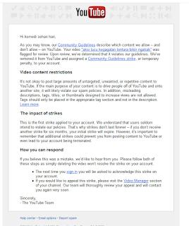 cara mengatasi akun youtube kena strike atau peringatan - adsense