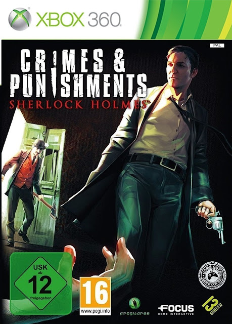 Crimes And Punishments Sherlock Holmes - Xbox 360 - Multi5 - Portada