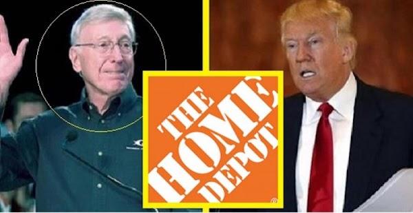 Donald Trump explota,  ORDENA a Home Depot abandone México.