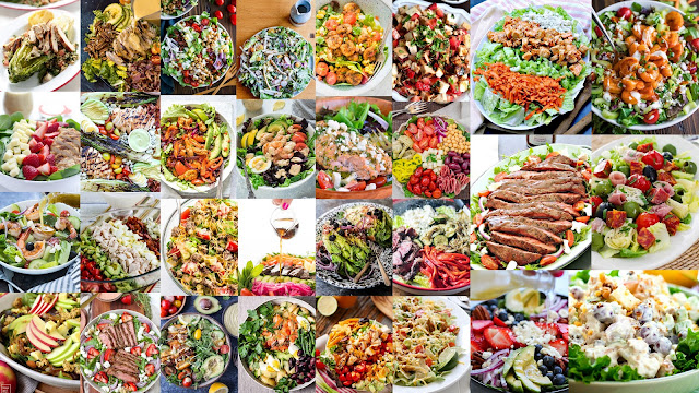30 Main Dish Salads | Taste As You Go