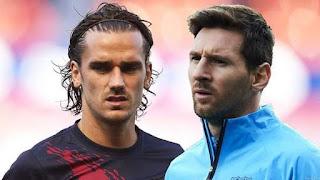 Pique Dismisses Talk of Messi - Griezmann Rift