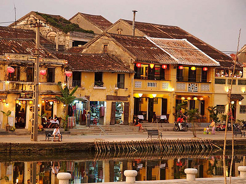 Hoi An Ancient Town in Hue city of Viet Nam