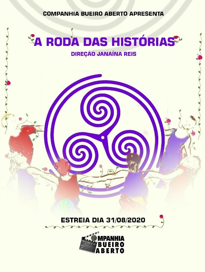 A Roda das Histórias (Companhia Bueiro Aberto) - Janaina Reis.