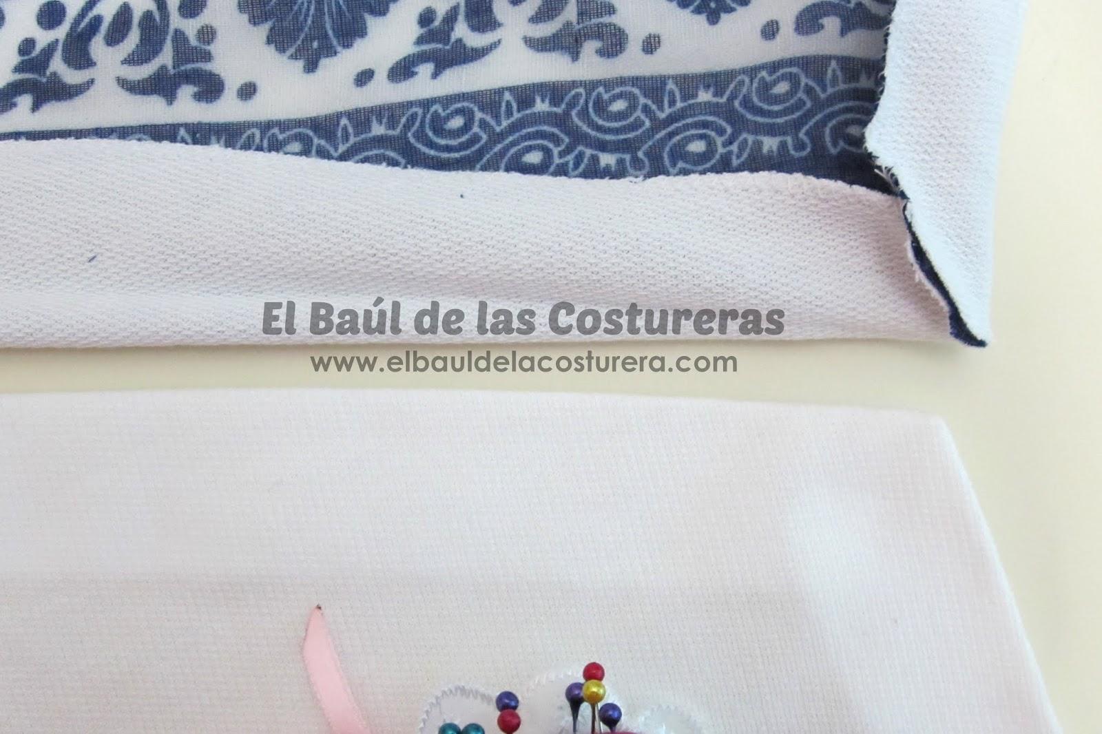 esquinas tipo sobre en blusa tutorial costura baul costureras