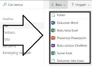 fitur-fitur yang keren pada OneDrive