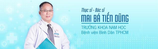 Phòng khám nam khoa Thạc sĩ - Bác sĩ Mai Bá Tiến Dũng