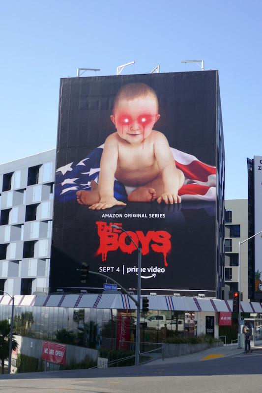 Boys season 2 superbaby teaser billboard