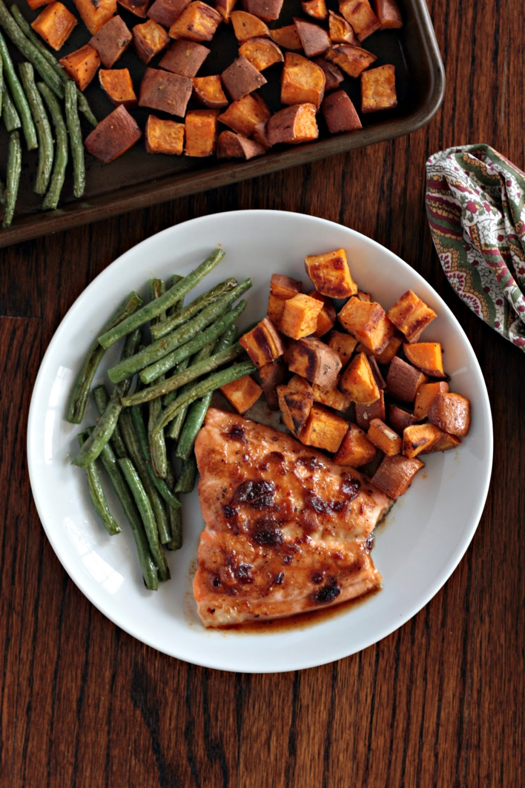 salmon with sweet chipotle glaze 1