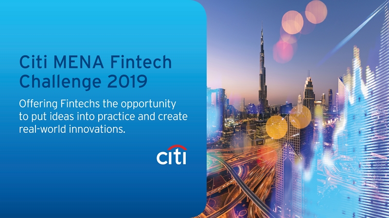 Citi invites Middle East, North Africa, Pakistan and Turkey #Fintech Community