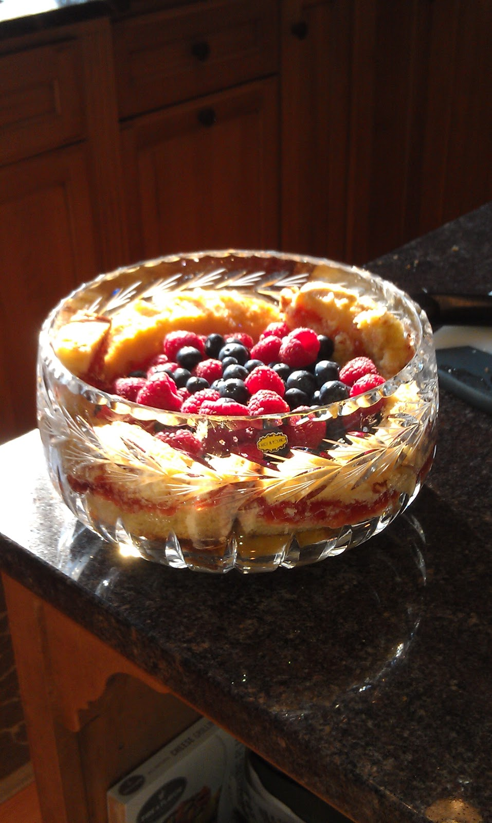 Can I Have The Recipe Irish Whiskey Trifle