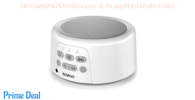 Renpho White Noise Sleep Machine 40% OFF
