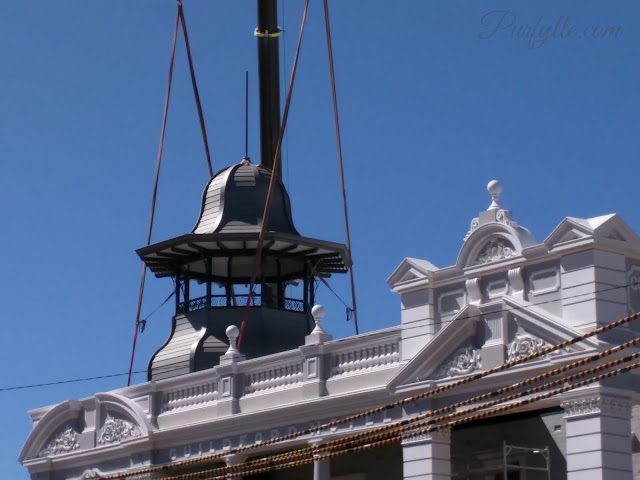 Finally our beloved Princess Tower, the crowning glory of the Guildford Hotel is restored