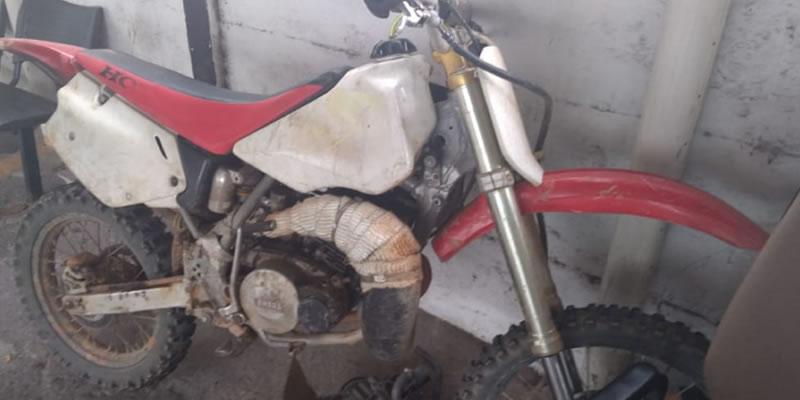 Polícia Civil de Poços de Caldas recupera moto furtada em Espírito Santo do Pinhal