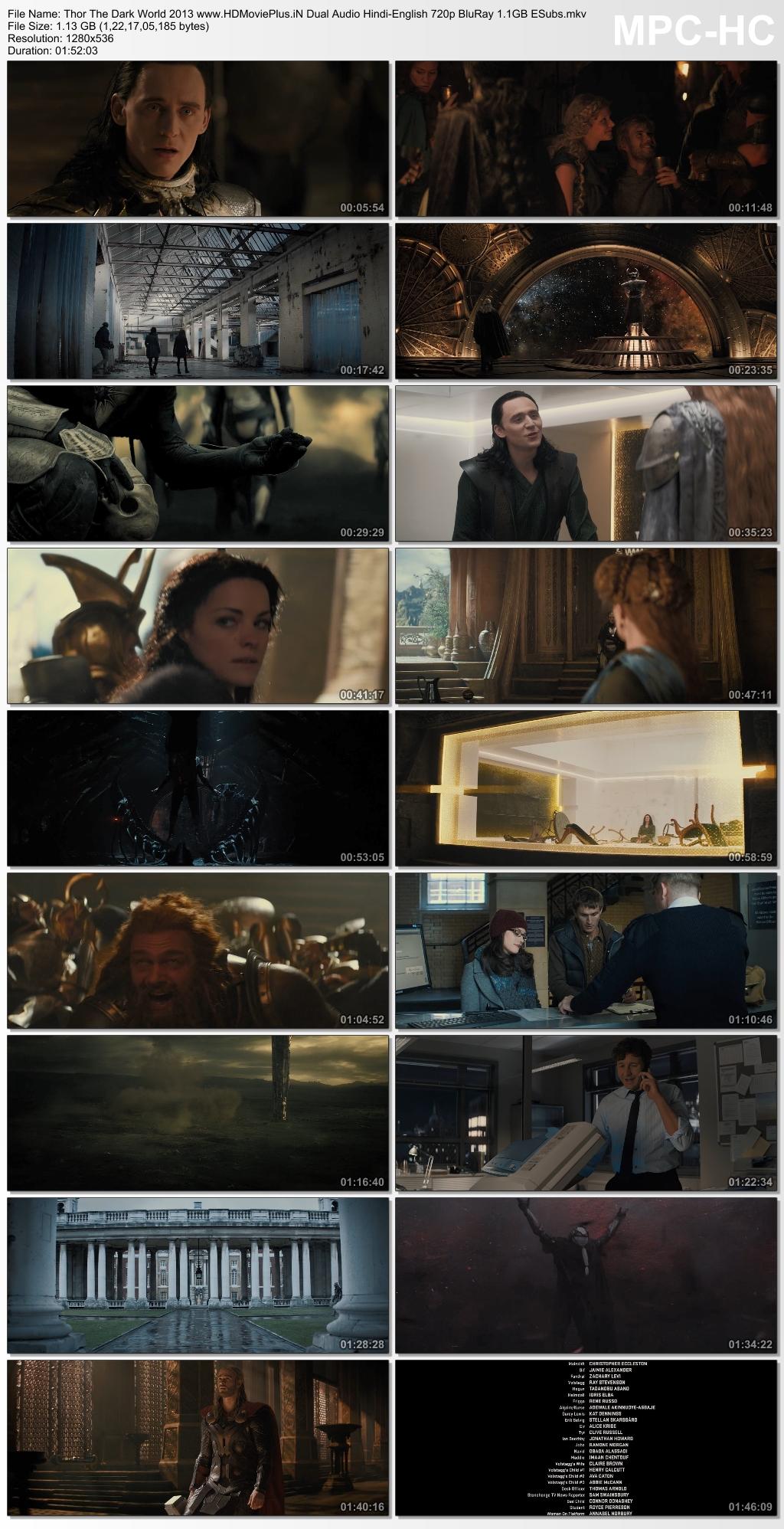 Thor: The Dark World 2013 Dual Audio