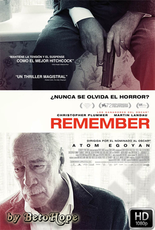 Remember [2015] [Latino-Ingles] HD 1080P [Google Drive] GloboTV